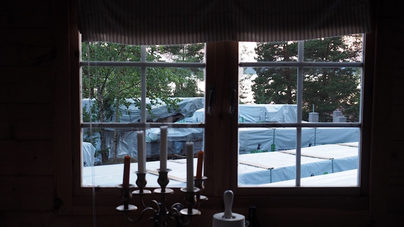 IMG_3529Näkymä pikkumökin ikkunasta
