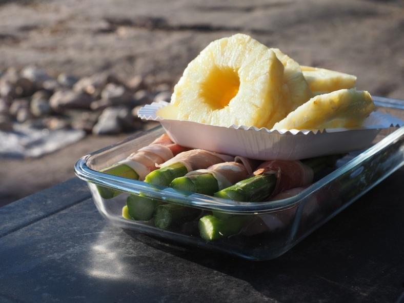 parsaa ja ananasta