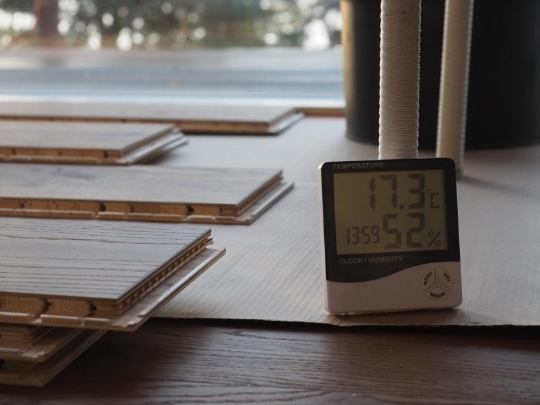 lämpö- ja kosteusmittari